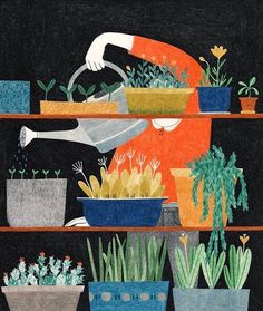 garden Illustration Art Interview How Life Imitates Art in the Colored Pencil Illustrations of Lieke van der Vorst The post garden Illustration Art Interview How Life Imitates Art in the Colored Pencil appeared first on Gardening. Art And Illustration, Book Illustrations, Color Pencil Art, Colored Pencils, Illustrators, Art Drawings, Creations, Art Prints, Art Paintings