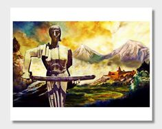 Mother Armenia, Armenian Art, Masis Ararat, Mount Ararat, Armenia Art, Armenian Paintings, Armenia Paintings, Mt Ararat, Digital Paintings