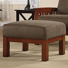 @Overstock.com - Enrich your home decor with a Hills Mission-style ottoman  Furniture features a solid wood frame with a dark oak finish  Footstool also features olive-colored microfiber fabrichttp://www.overstock.com/Home-Garden/Hills-Mission-style-Oak-and-Olive-Ottoman/3911907/product.html?CID=214117 $96.99