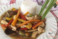 Kuřecí nudličky se zeleninou na styl čínské restaurace – RECETIMA