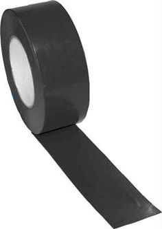 "2"" x 60 Yards Vinyl Tape - Black"