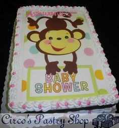 1000 images about noah thomas on pinterest monkey bouncers and monkey baby showers - Baby shower monkey theme cakes ...