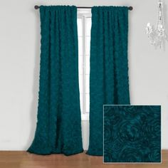 OH GOD PLEASE. How wonderful would these look on turquoise walls? The black version would also work.