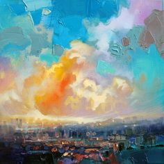 Urban Sky Study 1 by Scott Naismith