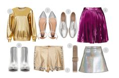 metallics trend Cravings, Style Inspiration, Closet, Image, Fashion, Moda, Armoire, Fashion Styles, Fasion