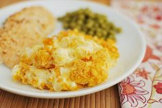 """Apparently they call these """"Funeral Potatoes"""".  I will call them """"Cracker Barrel Hash Brown Casserole """" :-)"""