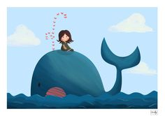 Whale trip by Orelly.deviantart.com on @deviantART