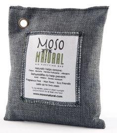 Save $ 10 order now Moso Natural 100 % Bamboo Charcoal Air Purifying Bag, 200gm,