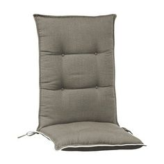 Bay Isle Home Accent Indoor/Outdoor Dining Chair Cushion Color: Grey Pouf Chair, Rocking Chair Cushions, Adirondack Chair Cushions, Custom Outdoor Cushions, Outdoor Lounge Chair Cushions, Patio Chairs, Outdoor Chairs, Dining Chairs, Indoor Outdoor