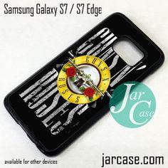 Guns N' Roses Phone Case for Samsung Galaxy S7 & S7 Edge
