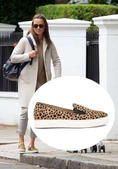 Pippa And James, Pippa Middleton Style, Cheetah Print, Slip On Shoes, Leo, Wedding Dresses, Outfits, Shopping, Fashion