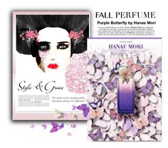 """Fall Perfume by Hanae Mori"" by pumsiks ❤ liked on Polyvore featuring beauty, Noumeda and Chanel"