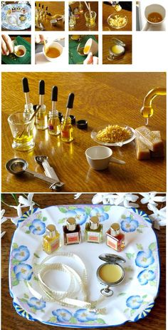 Solid Perfume Pocket Watch Locket   50 Tiny And Adorable DIY Stocking Stuffers