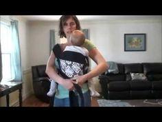 Hip Carry in an Infantino Mei Tai - YouTube
