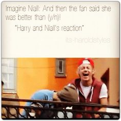 Funny Niall and Harry Imagine Niall Horan Imagines, Harry Imagines, One Direction Images, I Love One Direction, Niall E Harry, Bae, Thing 1, James Horan, 1d And 5sos