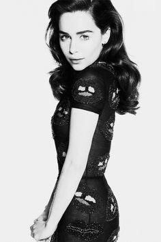 Emilia Clarke for InStyle UK April 2014