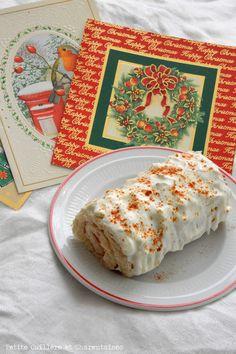 Mini-Bûche salée à la Truite fumée et au Fromage frais Sauf, Holiday Desserts, Christmas Time, Challenge, Bread, Mini, Food, Party Desserts, Philly Cream Cheese