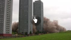 Red Road Flats - Coub - The Biggest Video Meme Platform by Lena Fadeeva Council Estate, Willis Tower, Glasgow, Skyscraper, Clouds, Flats, Building, Travel, Watch
