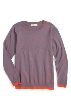 Tucker + Tate Twisted Yarn Crewneck Sweater (Toddler Girls, Little Girls & Big Girls)