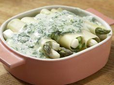 Spargel-Cannelloni mit Spinat: Zubereitungsschritt 9