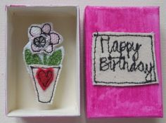 Happy Birthday Box £4.00