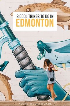 Edmonton is not only a great point to start your Rockies adventure - it's also a great city! Here are eight things to do in Edmonton Canada. Things to do in Edmonton Backpacking Canada, Backpacking Tips, Canada Travel, Canada Trip, Edmonton Restaurants, Ontario, Wild Campen, Alberta Travel, Canada
