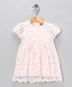 Pink Sweet Lace Dress by Petit Confection