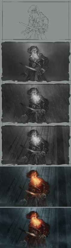 LeChuck Process by boc0.deviantart.com on @deviantART
