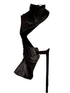 Your favorite top fashion brands and emerging designers all in one place. Apocalypse Fashion, Post Apocalypse, Concept Clothing, Leather Vest, Black Leather, Body Armor, Ann Demeulemeester, Dark Fashion, Textiles