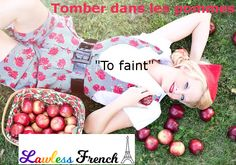 """Tomber dans les pommes, a delightful French idiom which translates to """"falling in the apples"""" in English, sure sounds romantic, if you consider a temporary lack of oxygen to the brain romantic. French Expressions, Weight Loss Tips, Lose Weight, Apple Health Benefits, Salud Natural, Apple Fruit, The Way You Are, Lose Belly, Free Stock Photos"""