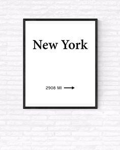 New York City Printable Wall Art Fashion Art by GabrielPrintables