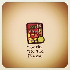 Turtle Tic Tac Pizza - @turtlewayne- #webstagram