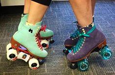 Skate everywhere! #moxirollerskates #wheelyfuntime #keepingitwheel #liferolls #adventure #workinskates #moxiskates  repost by moxirollerskates