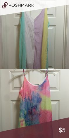 Dress/tops bought for daughter n never worn Two for one. Top/dress/cover up Tops Tees - Short Sleeve