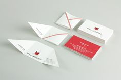 Logo and print for Multicourse designed by Bravo Company