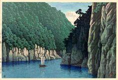 'Doro, Kishu' by Kawase Hasui, 1941 (published by Watanabe Shozaburo)