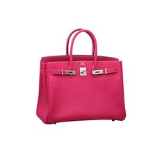 HERMES Birkin Rose Tyrien 35cm | From a collection of rare vintage handbags and purses at https://www.1stdibs.com/fashion/accessories/handbags-purses/