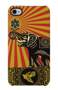The Shepard Fairey Snap Case for iPhone 4S features the same signature Incase features of our bestselling Snap Case durable hardshell protection, lightweight construction, easy snap on attachment, and direct access to all iPhone features.