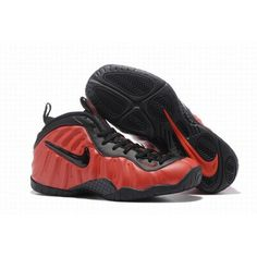 94de9093e53 Descuento Hombre Clásico Nike Air Foamposite One El más nuevo Rojo Negro  Venta  NikeAirFoamposite