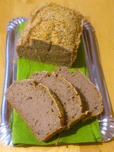 Pan de trigo sarraceno listo para comer!