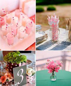 оформление свадьбы в розовом цвете #wedding #pink #свадьба #розовый #декор