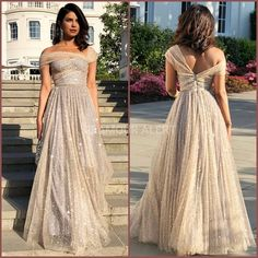 Priyanka Chopra looks gorgeous in Dior for Royal Wedding Reception! Styled by Mi - Dior Dress - Ideas of Dior Dress - Priyanka Chopra looks gorgeous in Dior for Royal Wedding Reception! Styled by Mimi Cuttrell. Cocktail Outfit, Cocktail Gowns, Bridesmaid Dresses, Prom Dresses, Wedding Dresses, Priyanka Chopra Wedding, Priyanka Chopra Dress, Moda Indiana, Reception Gown