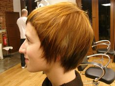 female haircut soft short by wip-hairport, via Flickr