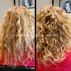 Voor na, before after, krullenknippen. Krullen geknipt bij krullenkapper Haarstudio DUET & friends te Hengelo. hairstyles. Na het krullenknippen haar krullen verzorgd met eigen CG producten, echt een prachtig resultaat. Dit is natuurlijk krullend haar, geen permanent en NIET geknipt met de Curlsys methode van Brian Mclean, model is geknipt door krullenkapper, krullenspecialist, allround hairstylist. Marjan van Haarstudio Duet & friends in Hengelo. www.haarstudioduet-friends.nl Curls, Dreadlocks, Hair Styles, Beauty, Hair Plait Styles, Hair Makeup, Hairdos, Haircut Styles, Dreads