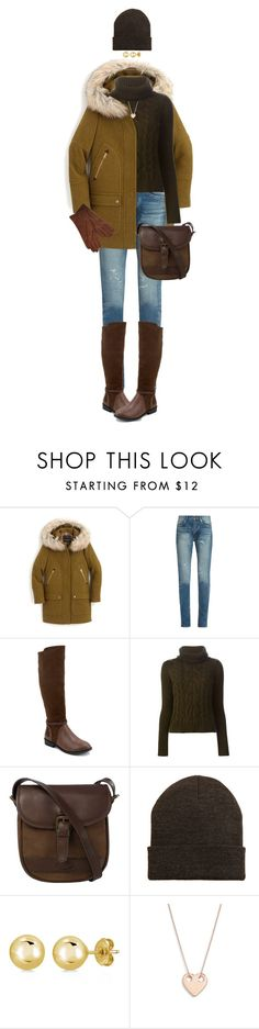 """""""Do You Want To Build A Snowman?"""" by ittie-kittie ❤ liked on Polyvore featuring J.Crew, Yves Saint Laurent, Olivia Miller, Alexander McQueen, DUBARRY, MANGO, BERRICLE, Ginette NY, Dents and Winter"""