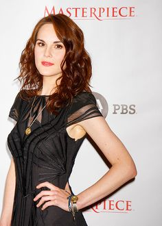 michelle dockery @ the beverly hilton (Photo by JB Lacroix)