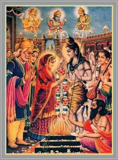 Daksha Curses Lord S'iva