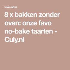 8 x bakken zonder oven: onze favo no-bake taarten - Culy.nl