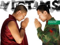 United colors of benetton advertising campaign - Oliviero Toscani Fashion Advertising, Advertising Campaign, United Colors Of Benneton, Le Tibet, Political Ads, Colors Of Benetton, Human Art, Vintage Posters, Photos