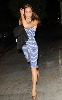 Kate Middleton attending a private house party in Chelsea, London, June 14, 2007.